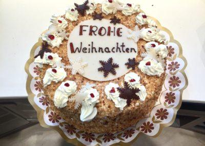 Frankfurter Kranz Frohe Weihnachten