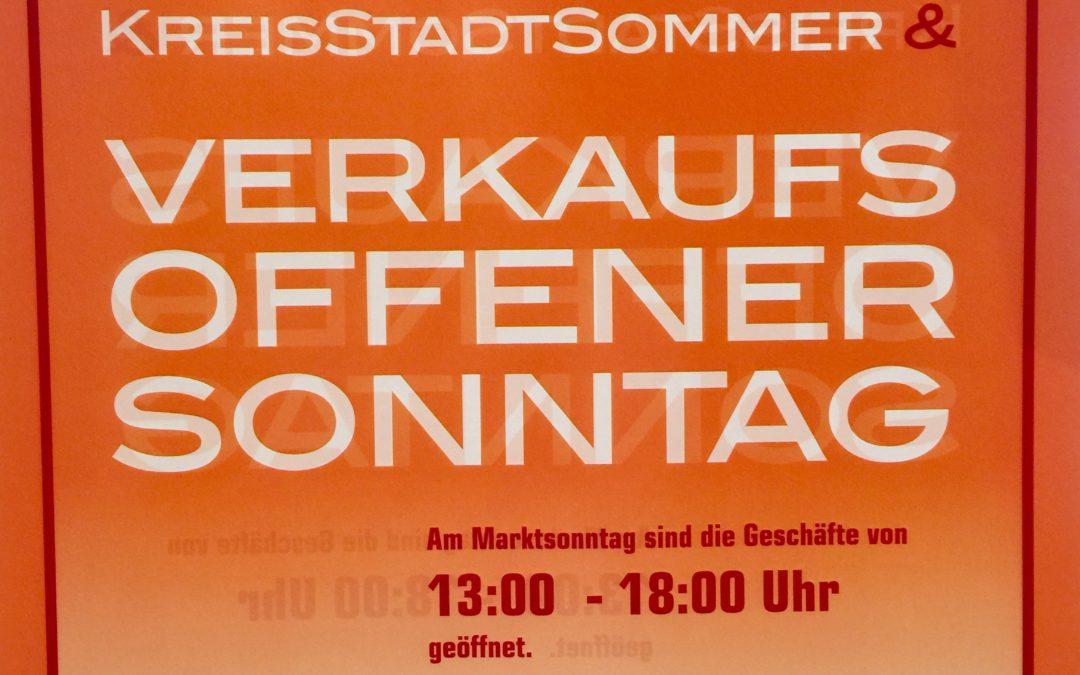 Eröffnungswochenende Hofheimer Kreisstadtsommer vom 23.6. bis 25.6.