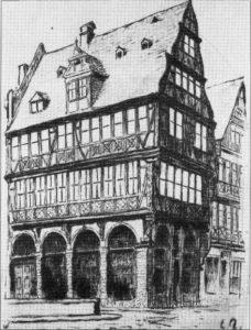 Bild vom Haus zur goldenen Waage
