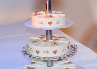 Hochzeitstorte Eistorte