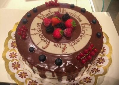 """Naked Cake """"Zum Geburtstag"""""""