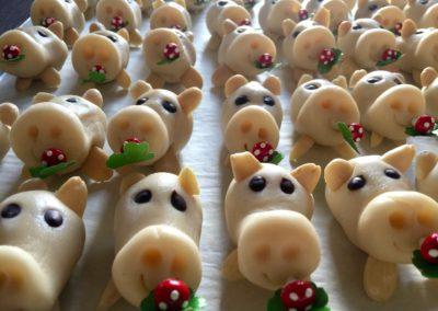 Marzipanschweinchen für Silvester