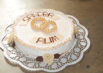 Torte mit Namen Eheringen